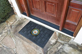US Navy Medallion Door Mat