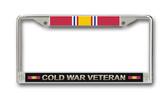 Cold War Veteran License Plate Frame