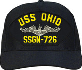 USS Ohio SSGN-726 Enlisted Emblematic Ball Cap