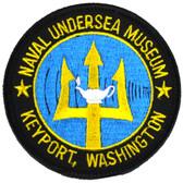 Naval Underwater Museum Keyport, WA 3 Inch Patch