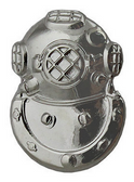 Second Class Diver Breast Insignia Lapel Pin