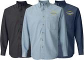 Custom Long Sleeve Denim Shirt
