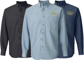 Silent Service Long Sleeve Denim Shirt