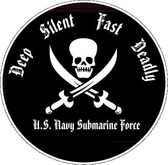 Deep, Silent, Fast, Deadly Decal