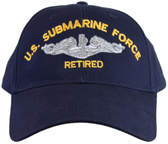 U.S. Submarine Force Retired Ball Cap