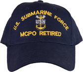 US Submarine Force MCPO Retired Ball Cap