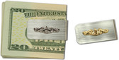 Submarine Dolphin Money Clip