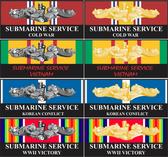 War Service Decals