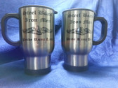 Steel Boats, Iron Men Stainless Steel Travel Mug