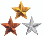 "3/16"" Stars for DBF Non Regulation Dolphins"