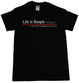 Life is Simple Submarine T-Shirt