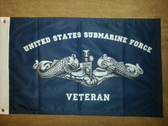 3x5 Submarine Veteran Flag