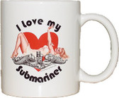 I Love my Submariner Coffee Mugs