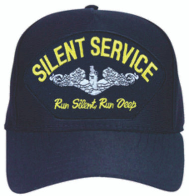 "5 Panel Emblematic Made in the USA Silent Service ""Run Silent Run Deep"" Enlisted Cap"