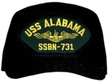 Made in the USA USS Alabama SSBN-731 Cap