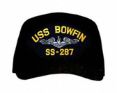 USS Bowfin SS-287 ( Silver Dolphins ) Submarine Enlisted Cap