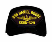 USS Daniel Boone SSBN-629 ( Gold Dolphins ) Custom Embroidered Submarine Officers Cap