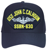 USS John C. Calhoun SSBN-630 ( Silver Dolphins ) Submarine Enlisted Cap