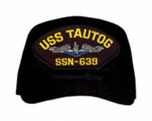 USS Tautog SSN-639 Blue Water ( Silver Dolphins ) Submarine Enlisted Cap