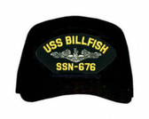 USS Billfish SSN-676 ( Silver Dolphins ) Submarine Enlisted Cap