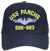 USS Parche SSN-683 ( Silver Dolphins ) Submarine Enlisted Cap