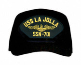 USS La Jolla SSN-701 ( Gold Dolphins ) Submarine Officers Cap