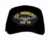 USS Providence SSN-719 ( Silver Dolphins ) Submarine Enlisted Custom Embroidered Cap