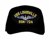 USS Louisville SSN-724 ( Silver Dolphins ) Submarine Enlisted Cap