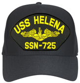 USS Helena SSN-725 ( Gold Dolphins ) Submarine Officers Cap