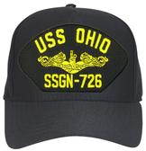 USS Ohio SSBN-726 ( Gold Dolphins ) Custom Embroidered Submarine Officer Cap
