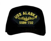 USS Alaska SSBN-732 ( Gold Dolphins ) Submarine Officers Cap
