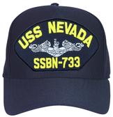 USS Nevada SSBN-733 ( Silver Dolphins ) Submarine Enlisted Cap