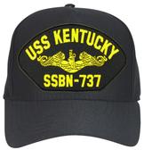 USS Kentucky SSBN-737 ( Gold Dolphins ) Submarine Officers Cap