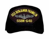 USS Benjamin Franklin SSBN-640 ( Silver Dolphins ) Submarine Enlisted Cap