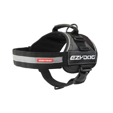 Charcoal - EzyDog Convert Dog Harness