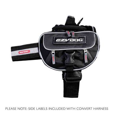 Convert Dog Harness with Saddle Bags