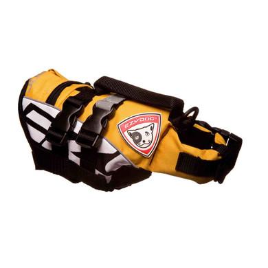 Yellow - EzyDog Micro Doggy Floatation Deviceo Doggy Floatation Device