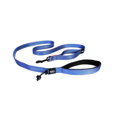 Blue - EzyDog Soft Trainer Leash
