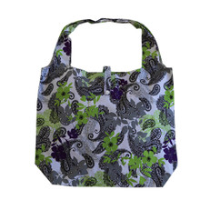 Paisley Justice Bag Black and Green