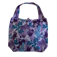 Paisley Justice Bag Purple and Blue