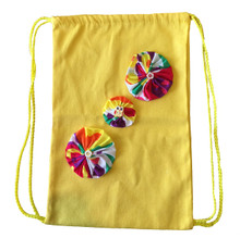 Freedom Kids Drawstring Backpack - Yellow
