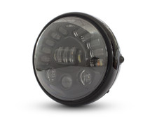 "7.5"" Projector LED Custom Retro Motorbike Motorcycle Headlight with Indicators Turn Signals"