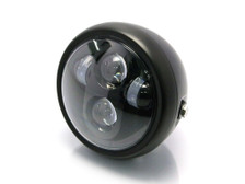 "Motorbike Motorcycle LED 6.5"" Headlight for Custom Project Retro Cafe Racer Bike"