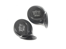 Pair Of Universal 12v Dual Tone 110db Air Horns - Great Upgrade For Car or Motorcycle