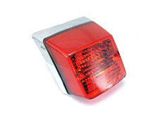 High Quality E-marked Vespa PX 125 / 150 / 200 Replacement Chrome Tail Light
