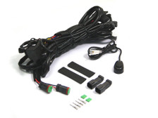 Complete Spot Fog Light Universal Wiring Loom Harness Switch Kit For All Cars Trucks Vans Buggies