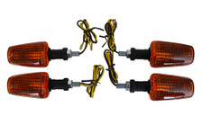 2 x Pairs of Universal 21W Halogen Indicators For Motorbikes Motorcycles Trikes Quads