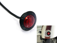 "2"" 50mm Very Bright Cafe Racer Flush Mount LED Stop / Tail Light Waterproof"