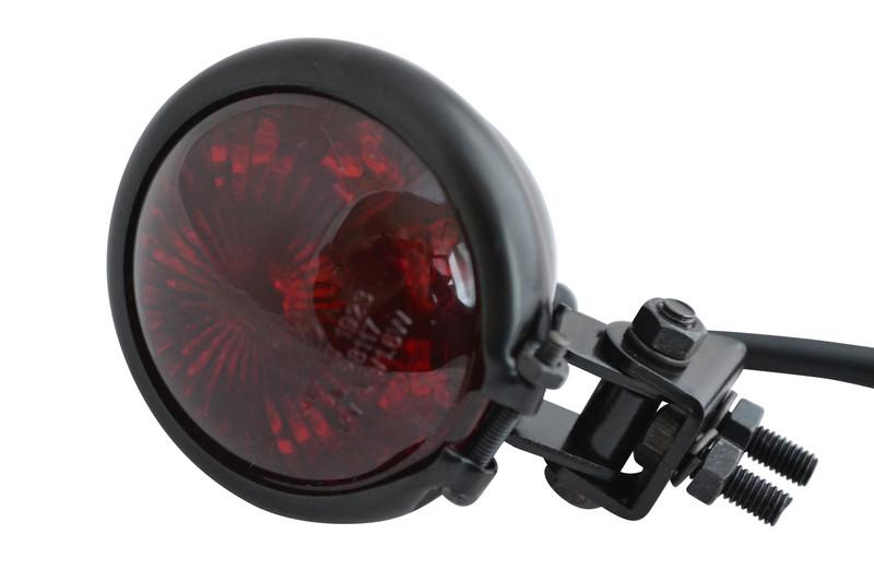 rear fender motorcycle universal custom led stop tail light image 1