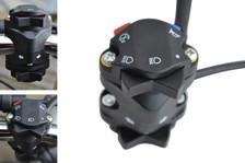 "Motocross Enduro Motorbike Motorcycle Light Horn Kill Indicator Turn Signal Switch for 22mm 7/8"" Handlebars"